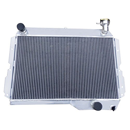 - ALLOYWORKS 4Row Aluminum Radiator For 80-90 Toyota Land Cruiser 60 Series FJ60 2F Petrol (Only for Manual)