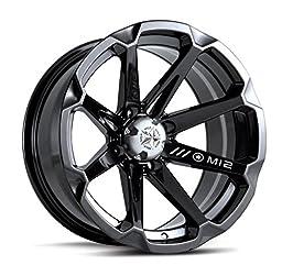 MSA M12 Diesel ATV Wheel - Gloss Black [14x7] +10mm, 4/137 [M12-04737]