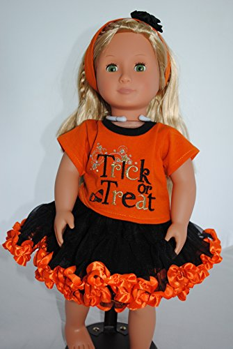 [Unique Doll Clothing Trick or Treat Halloween Outfit for 18 Inch Dolls] (Doll Halloween Outfit)