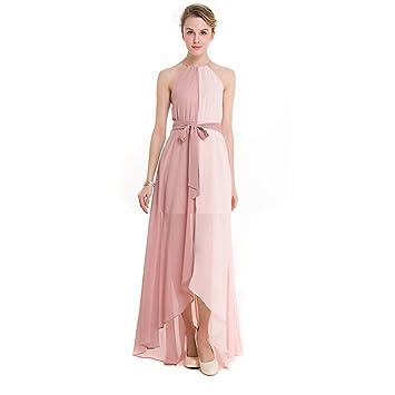 YAN Vestido de Mujer Vestidos de Las Mujeres Vestido de Baile de Gasa Formal Vestido de