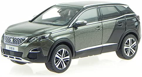 Norev Peugeot 3008 Gt P84 Amazonite Grey Modellauto 473882 1 43 Spielzeug