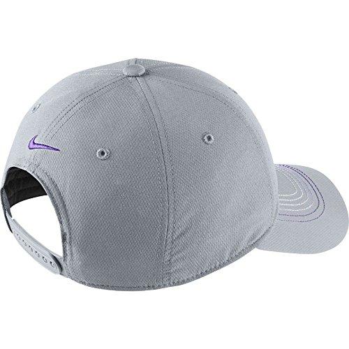 Nike Golf Contrast Stitch Cap LT MAGNET GREY/HYPER GRAPE