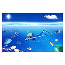 Photoshop Diver Submariner Metal Plate Tin Sign Poster Wall Decor (20*30cm) By Jake Box