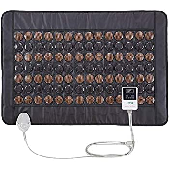 UTK Far Infrared Tourmaline Heating Pad for Back Pain Relief - Infrared Therapy for Cramps - Medium T-Pro (31