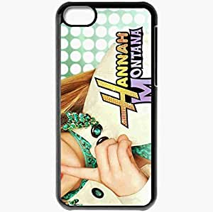 diy phone casePersonalized iphone 4/4s Cell phone Case/Cover Skin Hannah montana miley cyrus miley stewart actress hand TV Series Blackdiy phone case