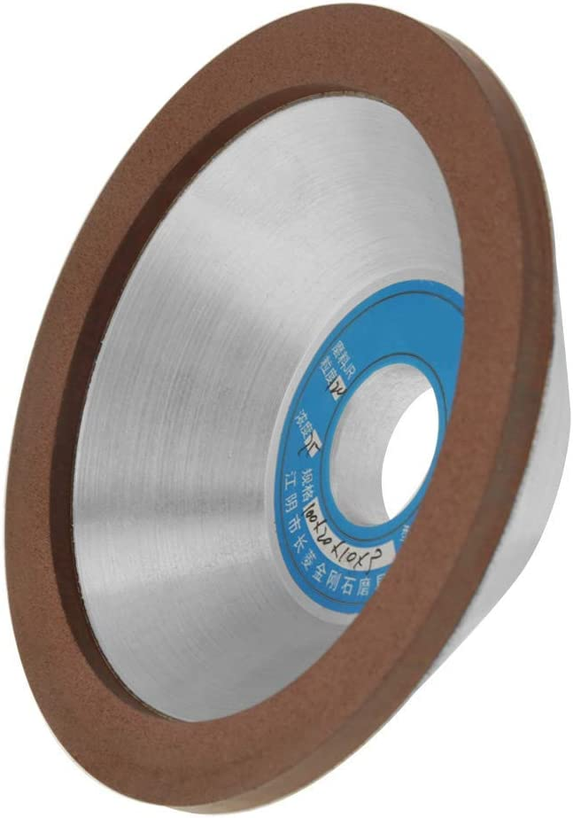 1Pcs 120 Grit 100mm Durable Diamond Grinding Wheel Cup Sanding Disc Grinder Accessory for Glass Ceramic Stones Gems Abrasive Accessories CHUNSHENN Diamond Grinding Wheel Cup