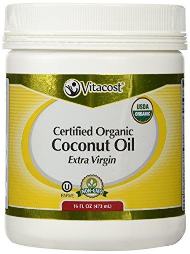 Vitacost Virgin Certified Organic Coconut