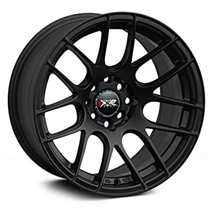 Amazon Com Xxr Wheels 530 Black Wheel With Painted Finish 18 X 7 5