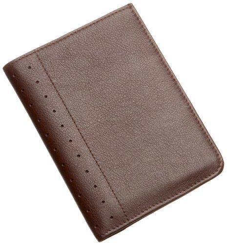 Cross Autocross AC199-9 Men's Money Wallet Collection Passport Wallet (Brown) ()