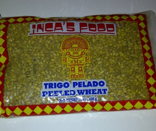 Inca's Food Trigo Pelado (Peeled Wheat) 15 oz - Product of Peru by Inca's Food