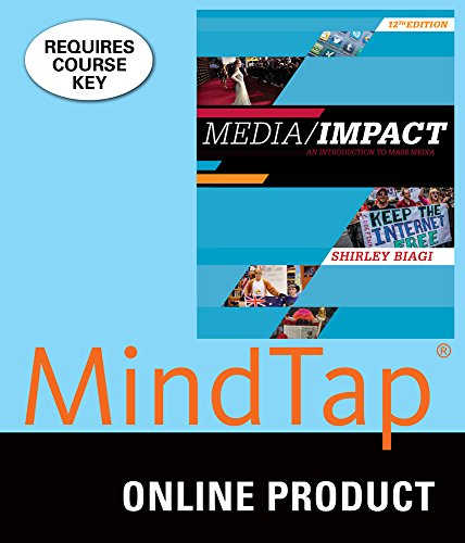 MindTap Communication for Biagi's Media/Impact: An Introduction to Mass Media, 12th Edition