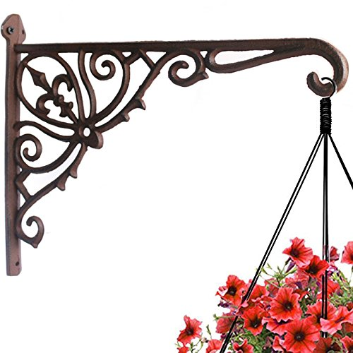 (Cast Iron Plant Hook Hanger 12