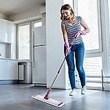 CQT Microfiber Mop Floor Cleaning System, Hardwood