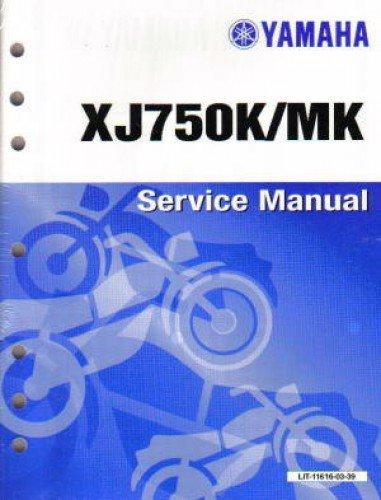 LIT-11616-03-39 1983 Yamaha XJ750 Maxim Motorcycle Service Manual - Yamaha Xj750 Maxim