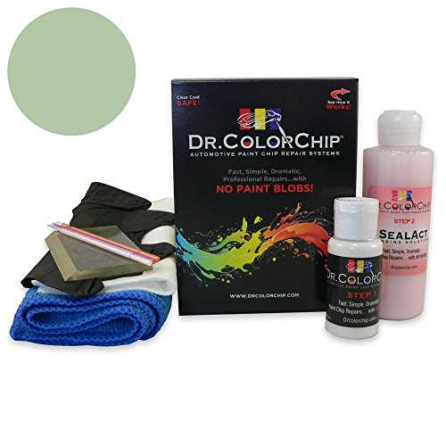 Dr. ColorChip Subaru Forester Automobile Paint - Sage Green Metallic C1F - Squirt-n-Squeegee Kit