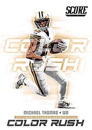69156e8d Amazon.com: 2018 Score Color Rush #14 Michael Thomas New Orleans ...