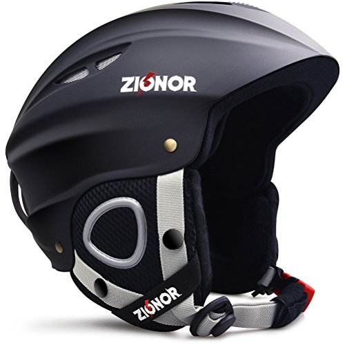 Zionor Lagopus H1 Ski Snowboard Helmet for Men Women – Air Flow Control Adjustable Fit