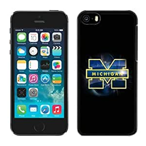 Customized for iphone 5/5S Case Ncaa Big Ten Conference Michigan Wolverines 13