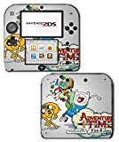 Adventure Time Jake Finn Princess Bubblegum Marceline Video Game Vinyl Decal Skin Sticker Cover for Nintendo 2DS System Console