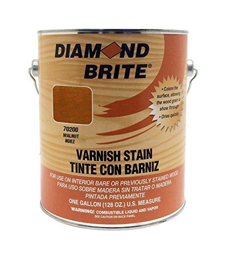(Diamond Brite Paint 70200 1-Gallon Walnut Varnish Stain)