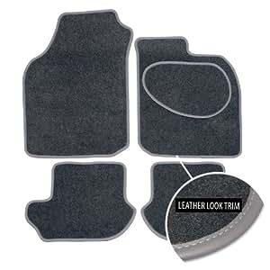 Tapetes de Coche a medida para Mazda 323(1998–2003), Grey Carpet - Grey Trim