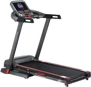 Focus Fitness Jet 5 Cinta de Correr, Color Negro/Rojo, One Size ...
