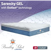 BedInABox Serenity Gel Memory Foam Bed Mattress (Full)