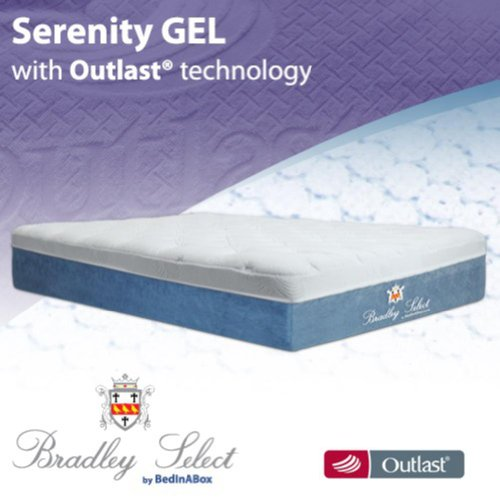 BedInABox Serenity Gel Memory Foam Bed Mattress (King)