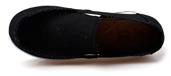 936ec9d1b3e4a Ausom Women's Swing Wedges Casual Canvas Shoes Platform Slip-On Lose Weight  Fitness Walking Sneaker