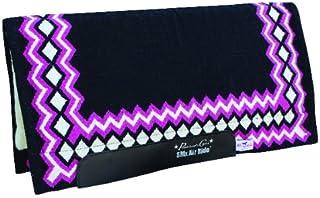 Les Professionnels Choix 34x 36Equine SMX Air-Ride Shilloh Tapis de Selle noir/rose Professional's Choice