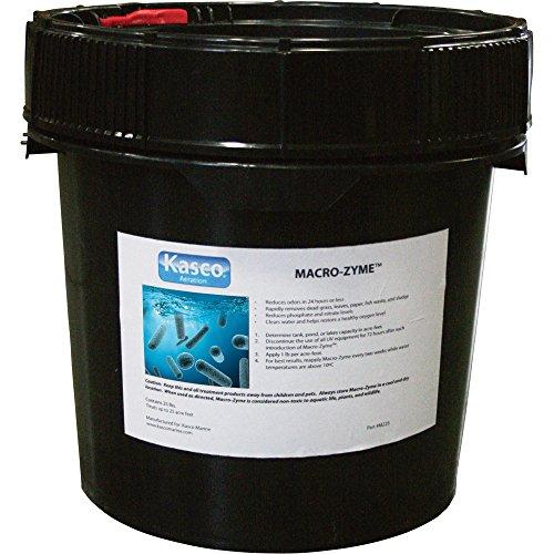 50 lb Bulk Pail - Macro-zyme Pond Water Treatment Bacteria for Fish Waste, Muck, Sludge, Odor ()