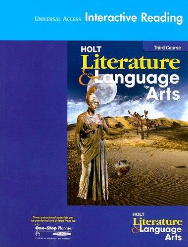 Holt Literature and Language Arts Califo - 9 Language Arts Shopping Results