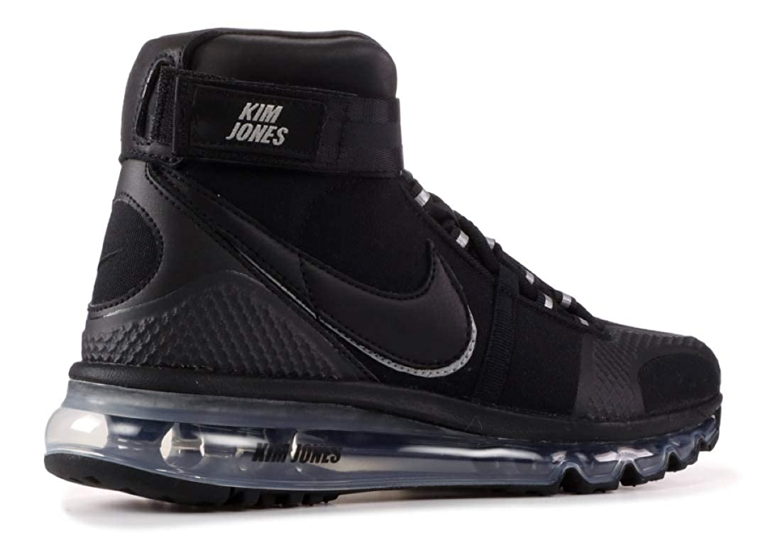 info for c73ba f35f5 Amazon.com  Nike Air Max 360 HiKj Kim Jones - Ao2313-001 - Size 10  Black, Black-Black  Shoes