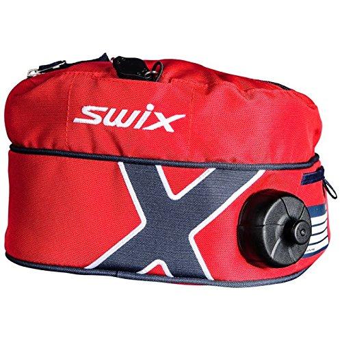 Swix Ski Gear Norge geïsoleerde drinkriem, 1-liter, rood/blauw