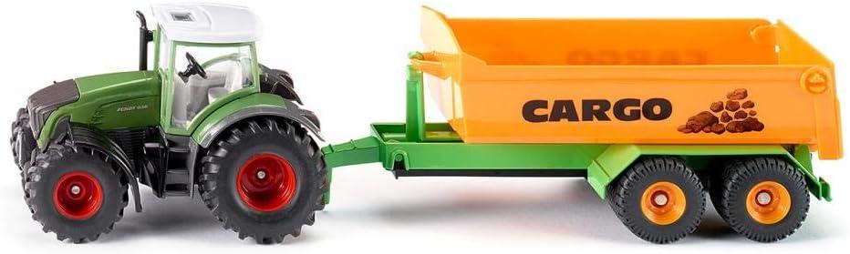 SIKU 1989 Metal, De plástico vehículo de Juguete - Vehículos de Juguete (Verde, Naranja, Tractor, Metal, De plástico, 1:50, 65 mm, 34 cm)