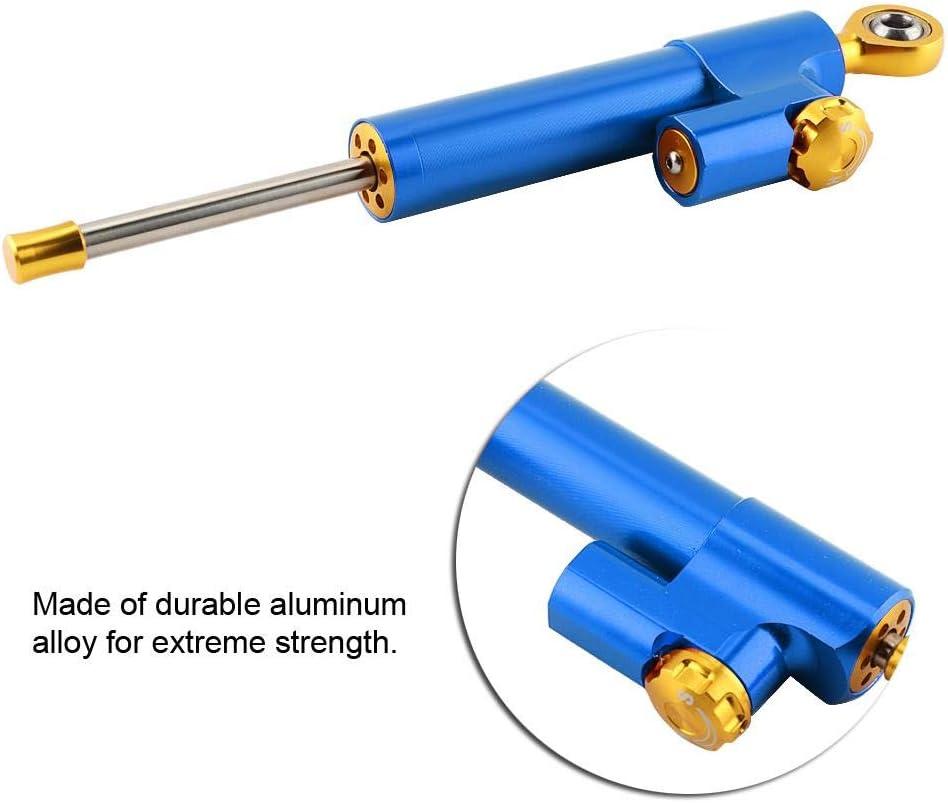or Aramox Amortisseur de direction contr/ôle universel de s/écurit/é de stabilisateur dalliage daluminium de guidon universel de moto