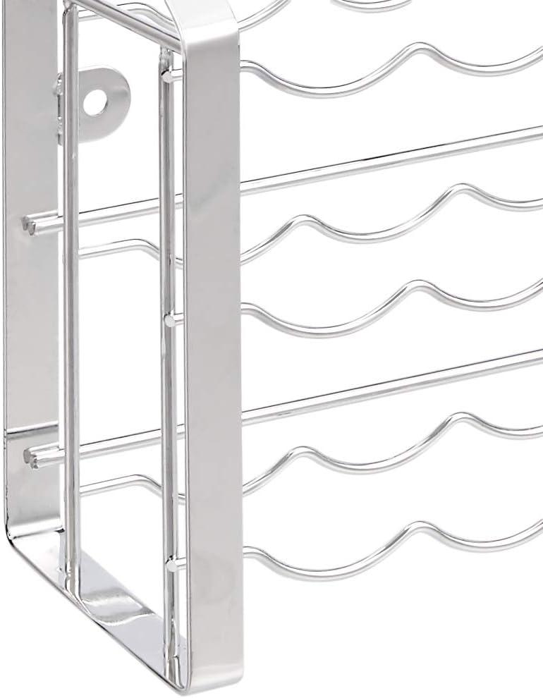 Basics Portaspezie verticale in metallo per 18 vasetti