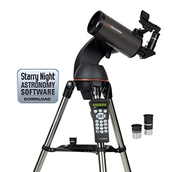 Celestron 22087 NexStar 90 SLT Mak Computerised Telescope - Black