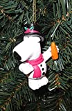 3' Brian Griffin The Snowman Family Guy Christmas Ornament