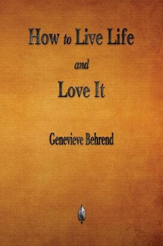 How to Live Life and Love It pdf epub