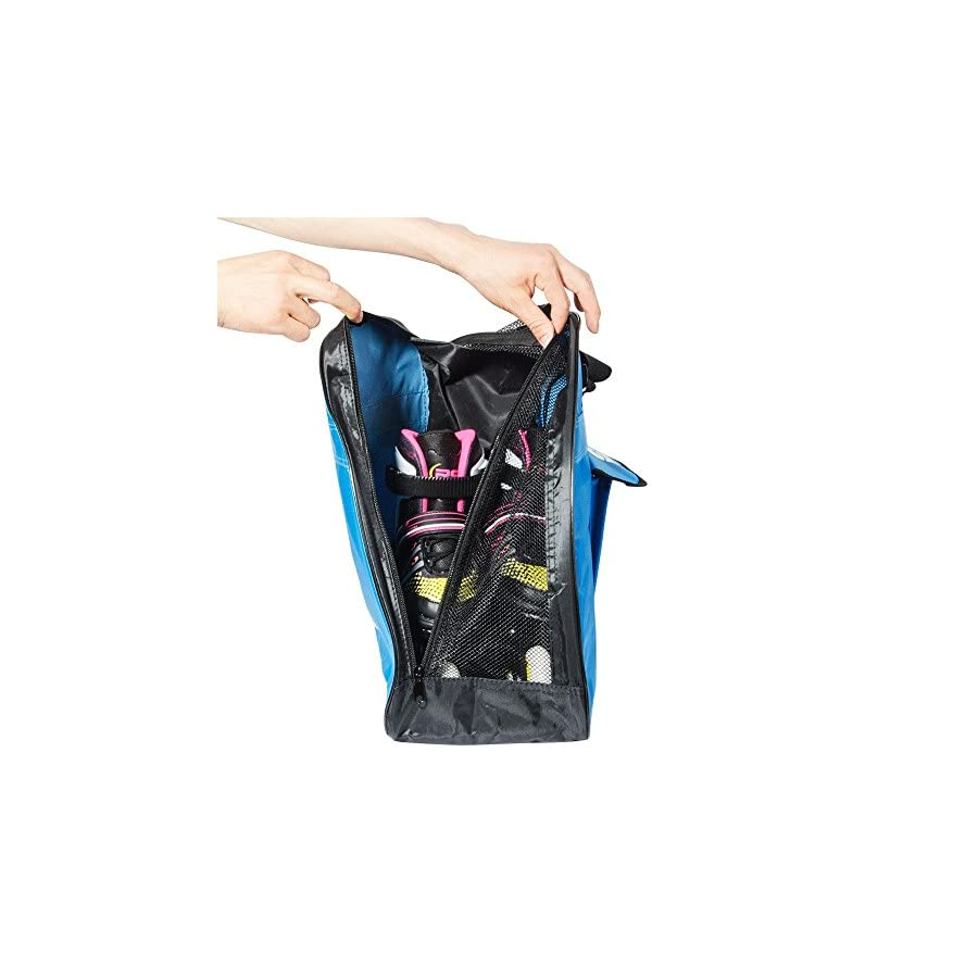Yueku Ice Skate Bag, Premium Bag to Carry Ice Skates, Roller Skates, Inline Skates for Kids and Adults