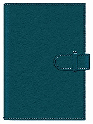 Pierre Belvedere Executive A5 Padded Hardcover Notebook, Refillable, Teal (7706640) (A5 Portfolio)