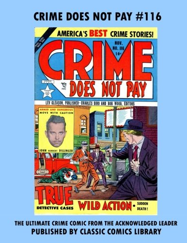 Read Online Crime Does Not Pay Comics #116 ebook