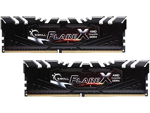 - G.SKILL Flare X Series 16GB (2 x 8GB) 288-Pin DDR4 SDRAM DDR4 3200 (PC4 25600) AMD X370 Memory Model F4-3200C14D-16GFX