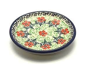 Polish Pottery Coaster - Maraschino