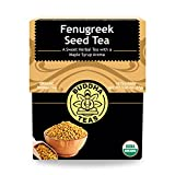 Organic Fenugreek Seed Tea - Kosher, Caffeine Free, GMO-Free - 18 Bleach Free Tea Bags