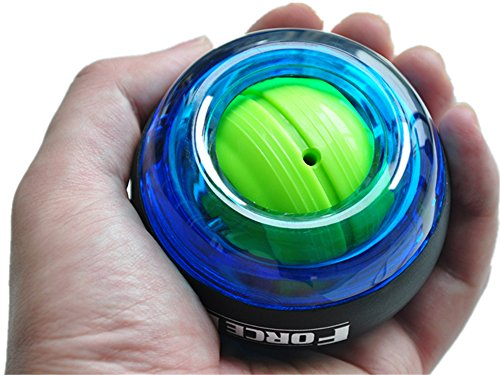 Wincspace Wrist Trainer Powerball Arm Strengthener Essential Gyroscopic Wrist and Forearm Exerciser Ball