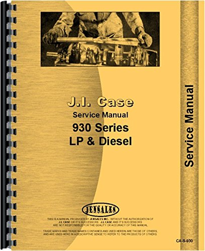Case 930 Tractor Service Manual ebook