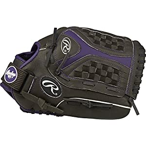 "Rawlings Storm Regular Funnel Web 12"" Softball Youth Gloves"