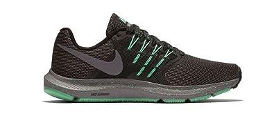 83eae705a3398 Nike Women s Run Swift SE Running Shoe Black Gunsmoke Green Glow Size 6 M